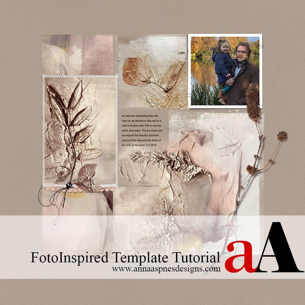 FotoInspired Template Tutorial + Coupon
