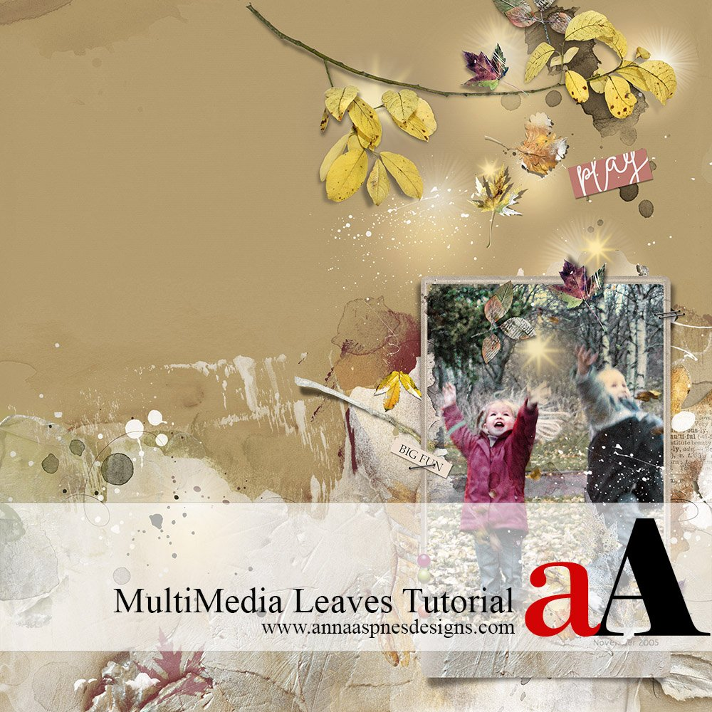 MultiMedia Leaves Tutorial + Coupon