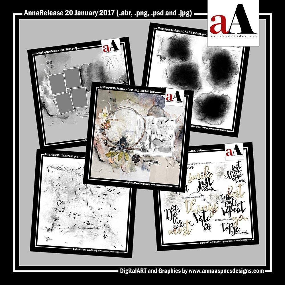 New Artsy Digital Designs Anaphora