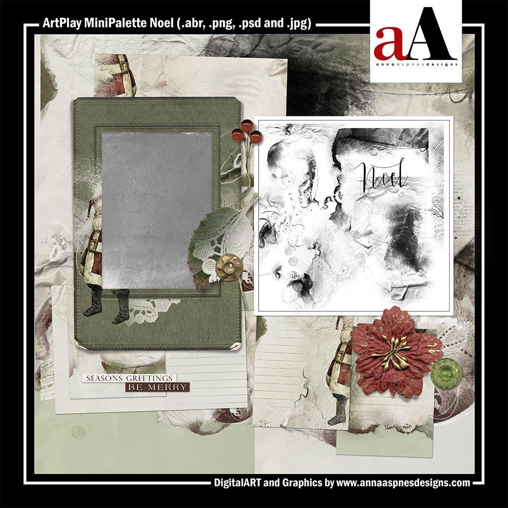 New ArtPlay MiniPalette Noel