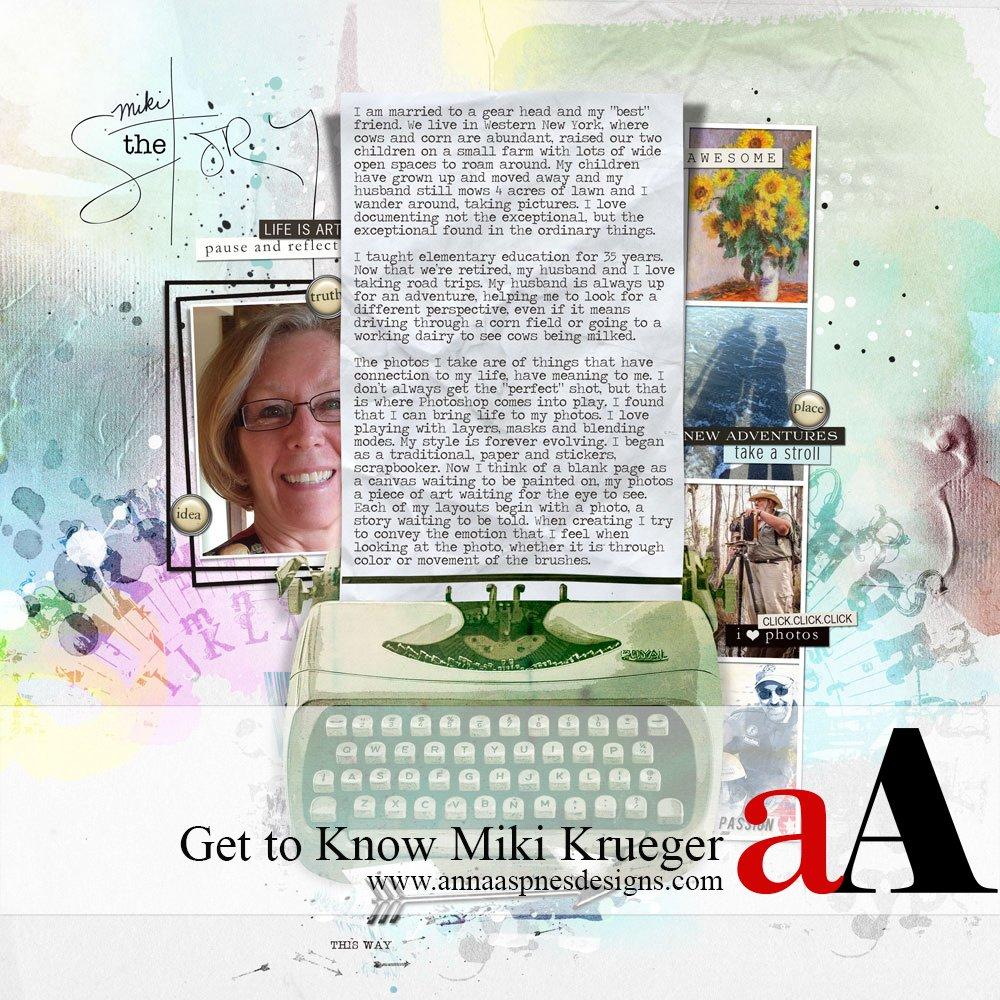 aA Creative Team Member Miki Krueger