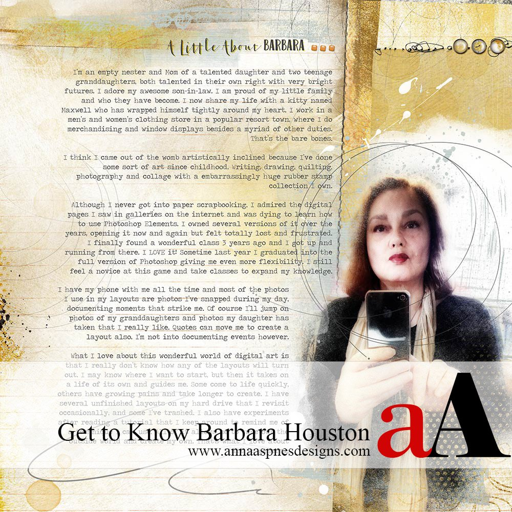 aA Creative Team Member Barbara Houston