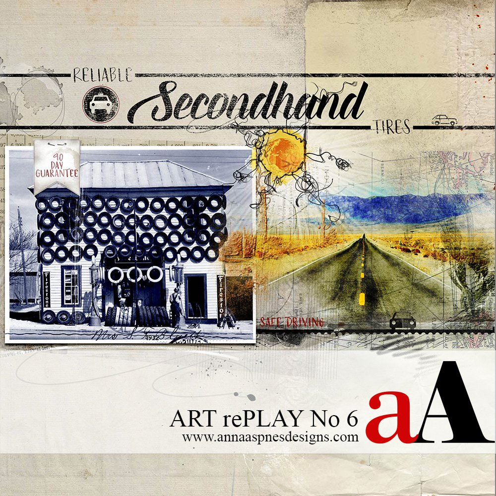 Before and After ART rePLAY No 6