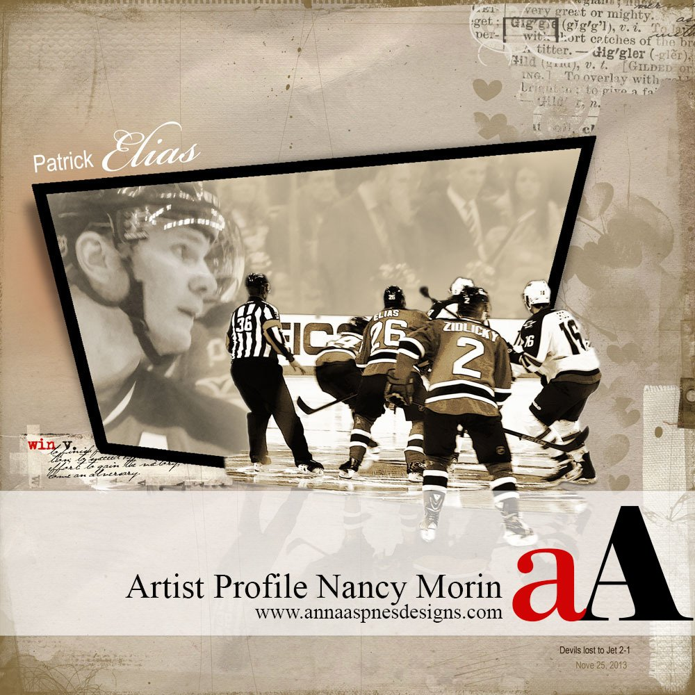 Artist Profile Nancy Morin