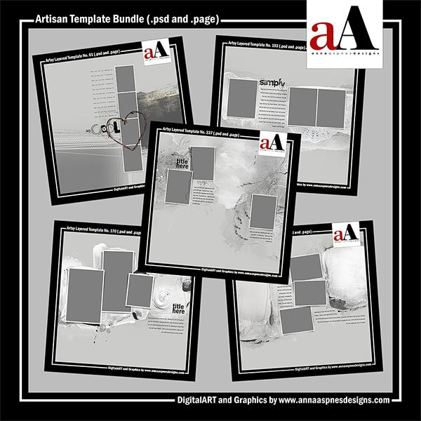 New Artisan Template Bundle