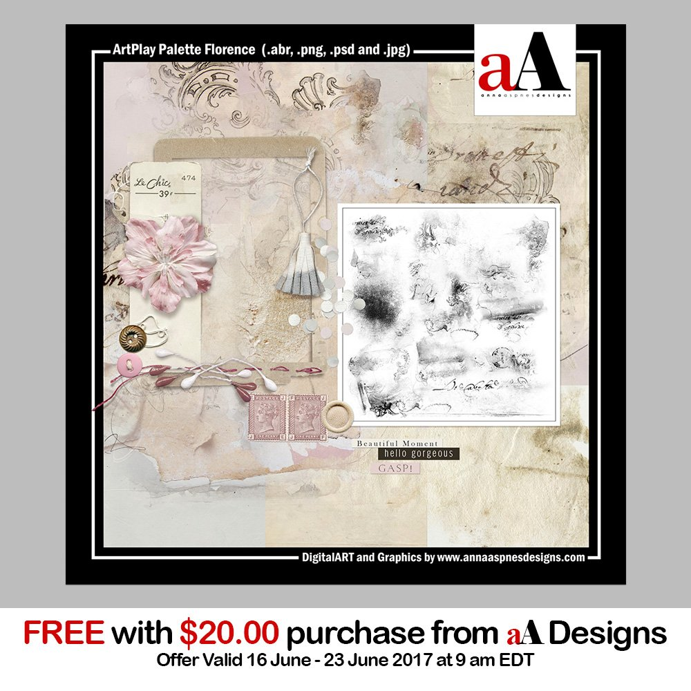 New Free with Purchase ArtPlay Palette Florence