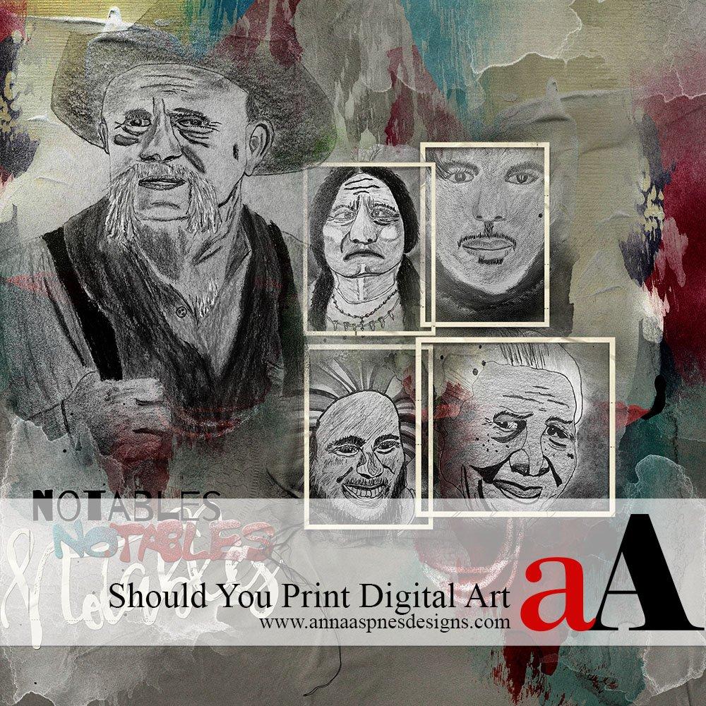 Should You Print Digital Art?