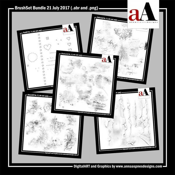 New Artsy Digital Designs BrushSet Bundle 07-21