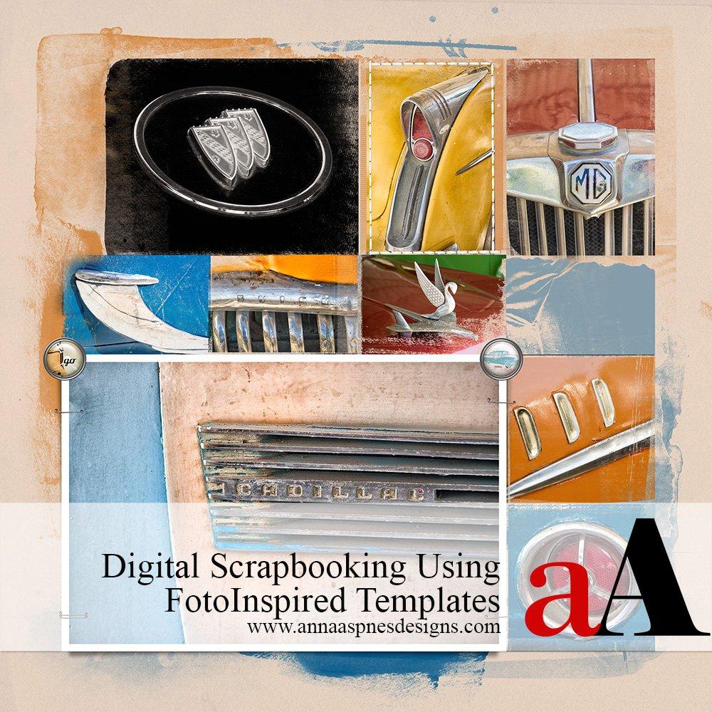 Digital Scrapbooking Using FotoInspired Templates