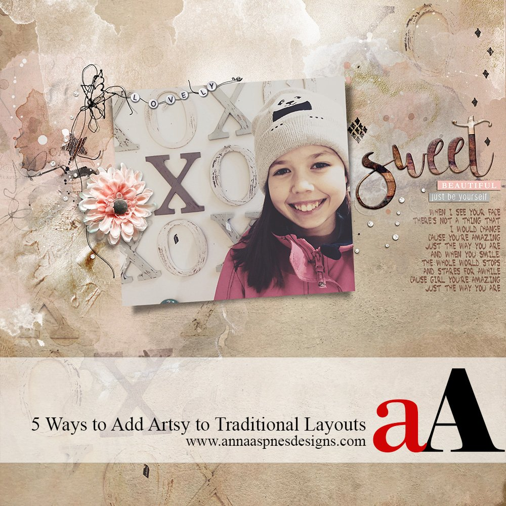 5 Ways to Add Artsy to Traditional Layouts