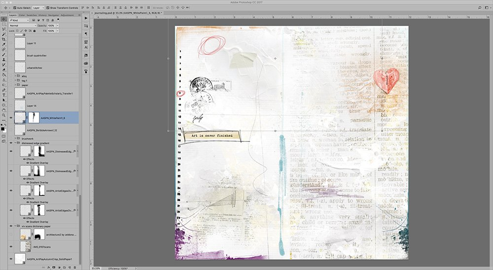 3 Step Digital Art Journaling