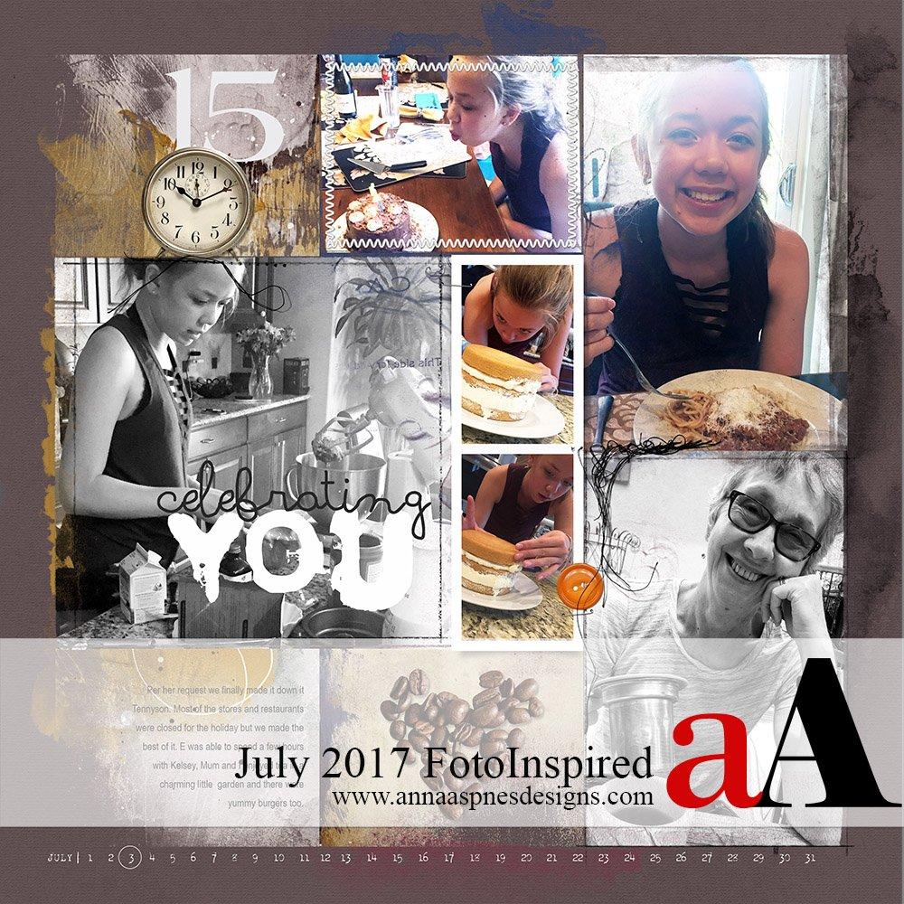 FotoInspired Inspiration July 2017