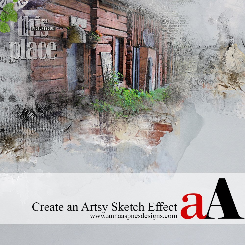 Artsy Sketch Effect Using Apps Tutorial