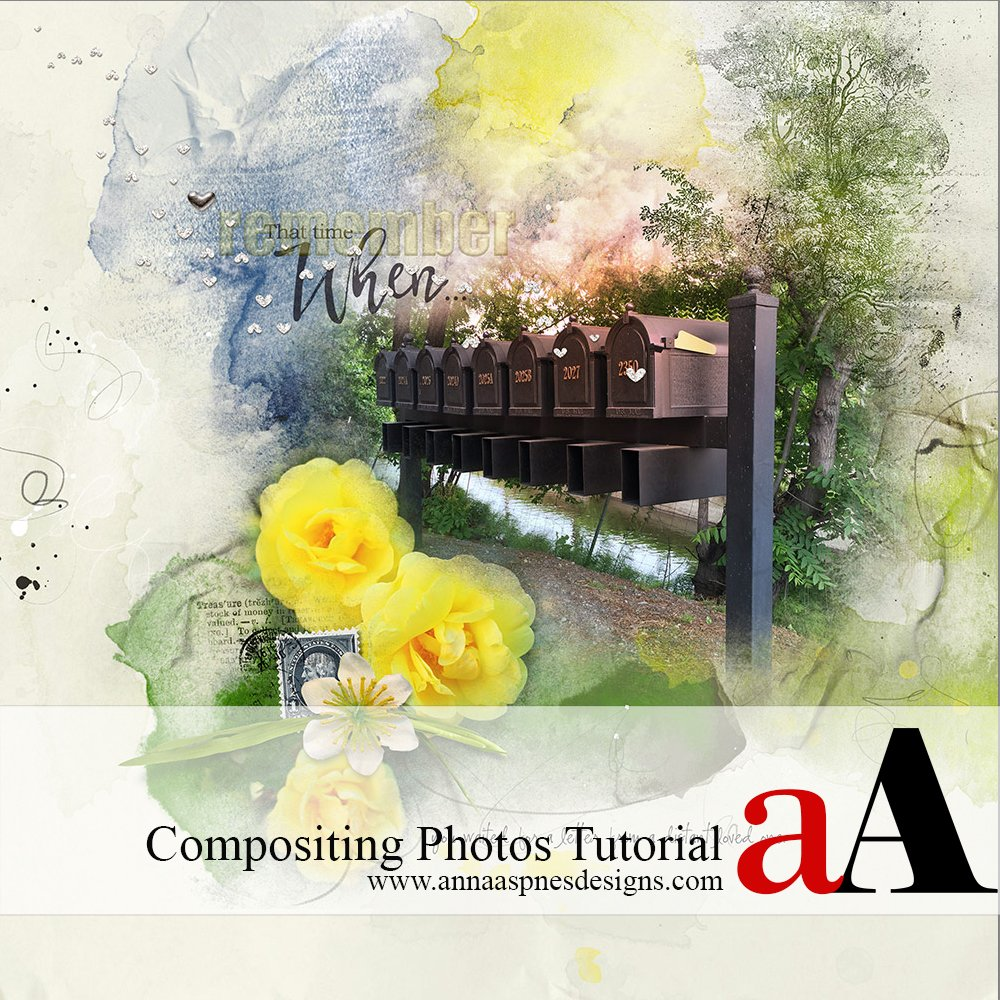 3 Step Compositing Photos Tutorial