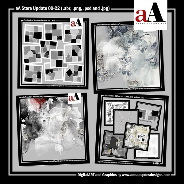 aA DigitalART Store Updates 09-22