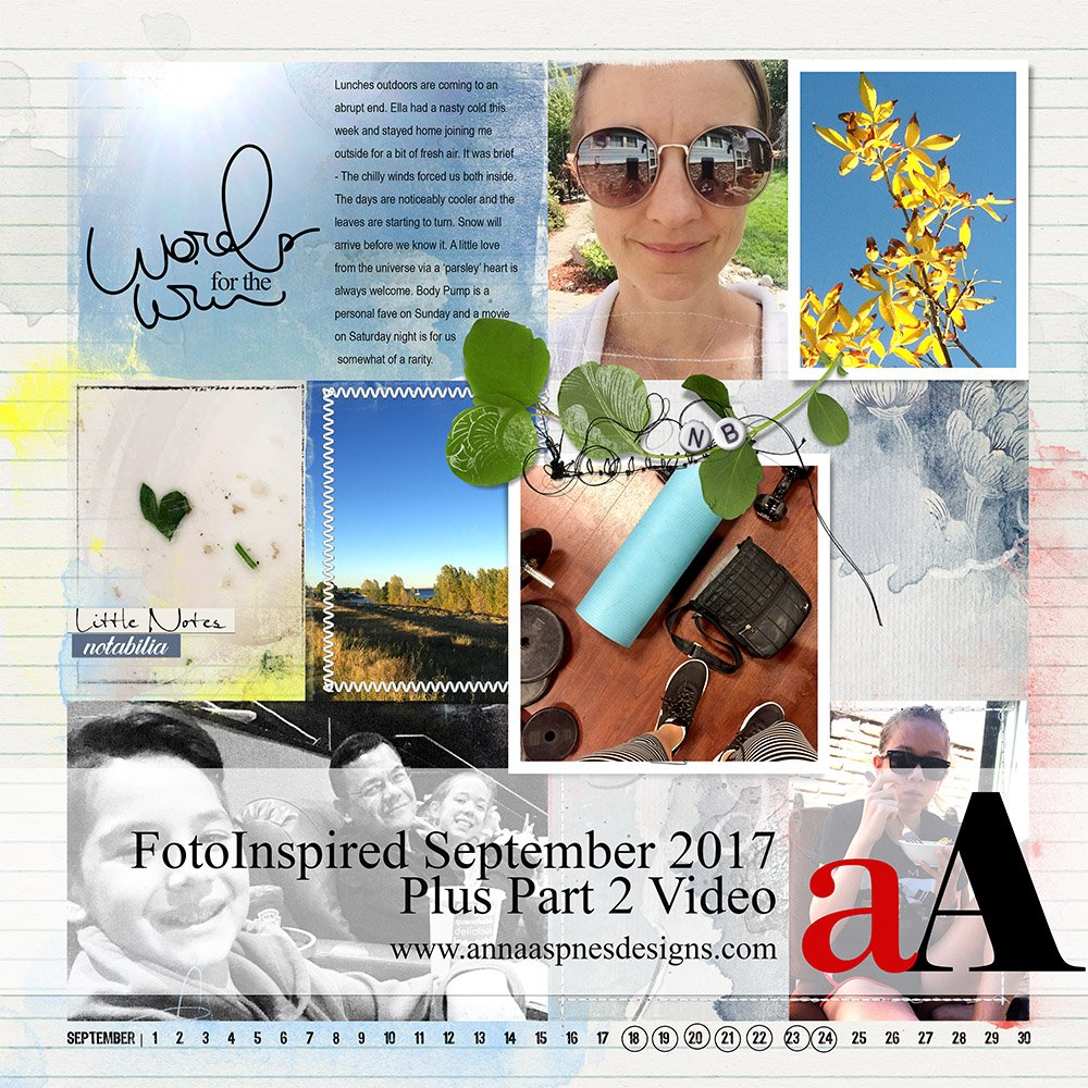 FotoInspired Inspiration September 2017