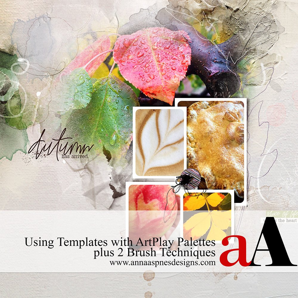 ArtPlay Palettes, Templates and BrushSet Video