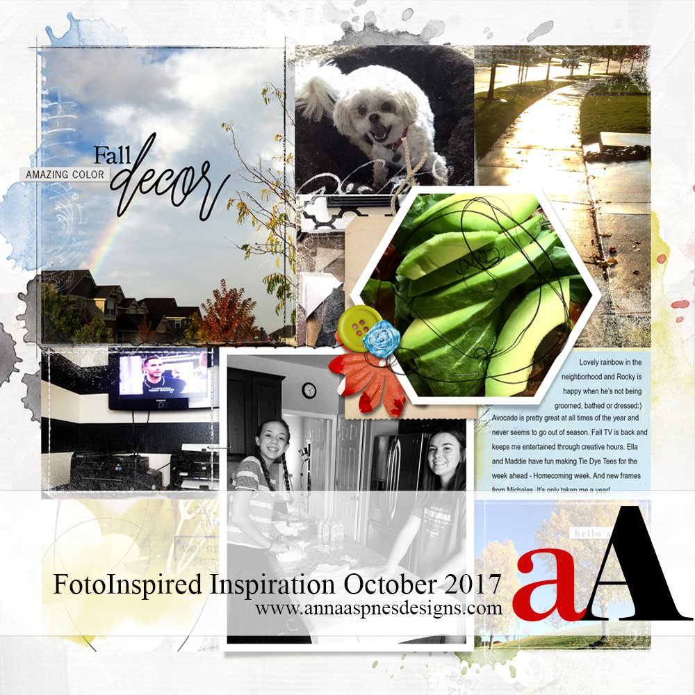 FotoInspired Inspiration October 2017