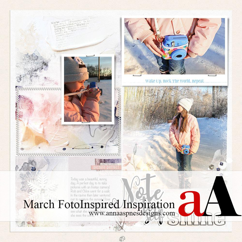 FotoInspired Inspiration March 2018