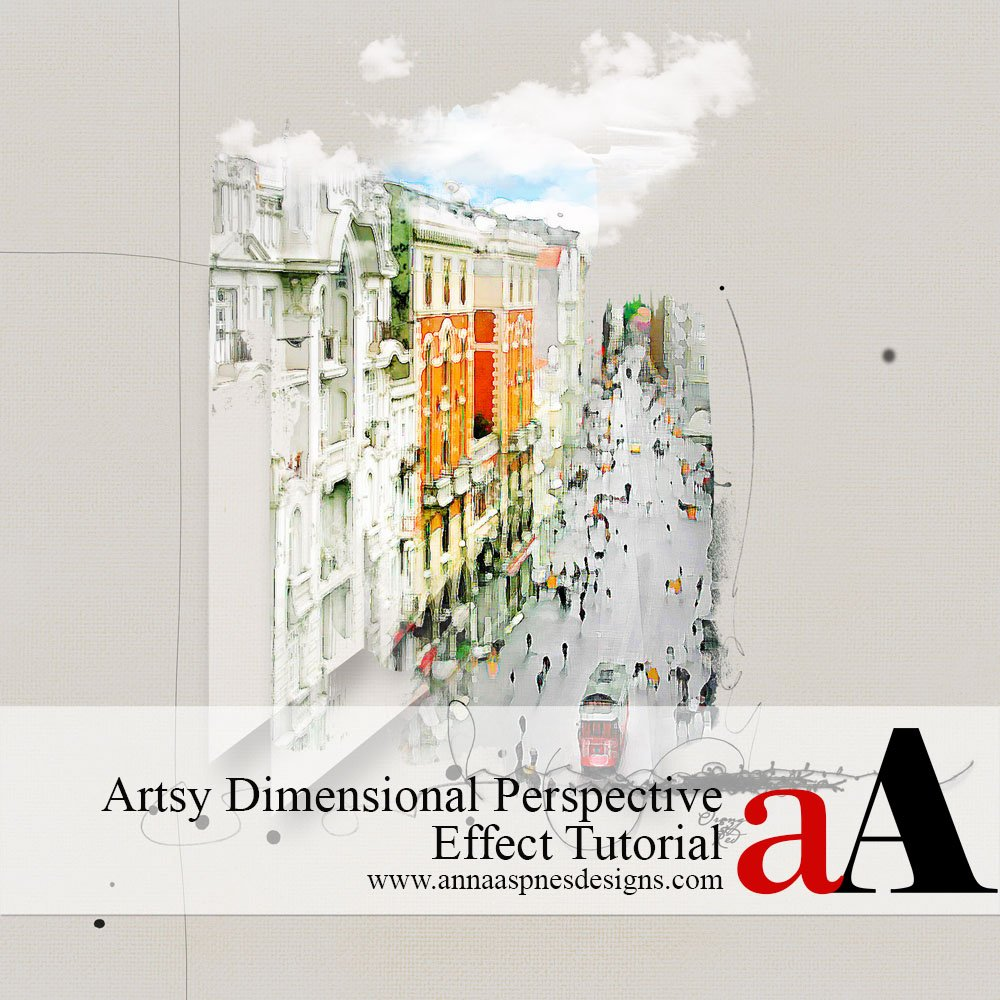 Artsy Dimensional Perspective Effect Tutorial