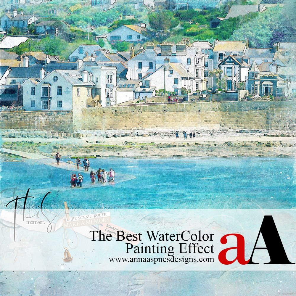 The Best Watercolor Painting Effect