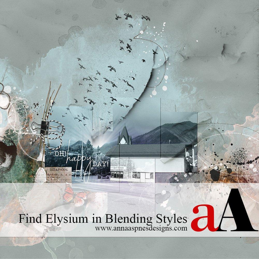 Find Elysium in Blending Styles Video