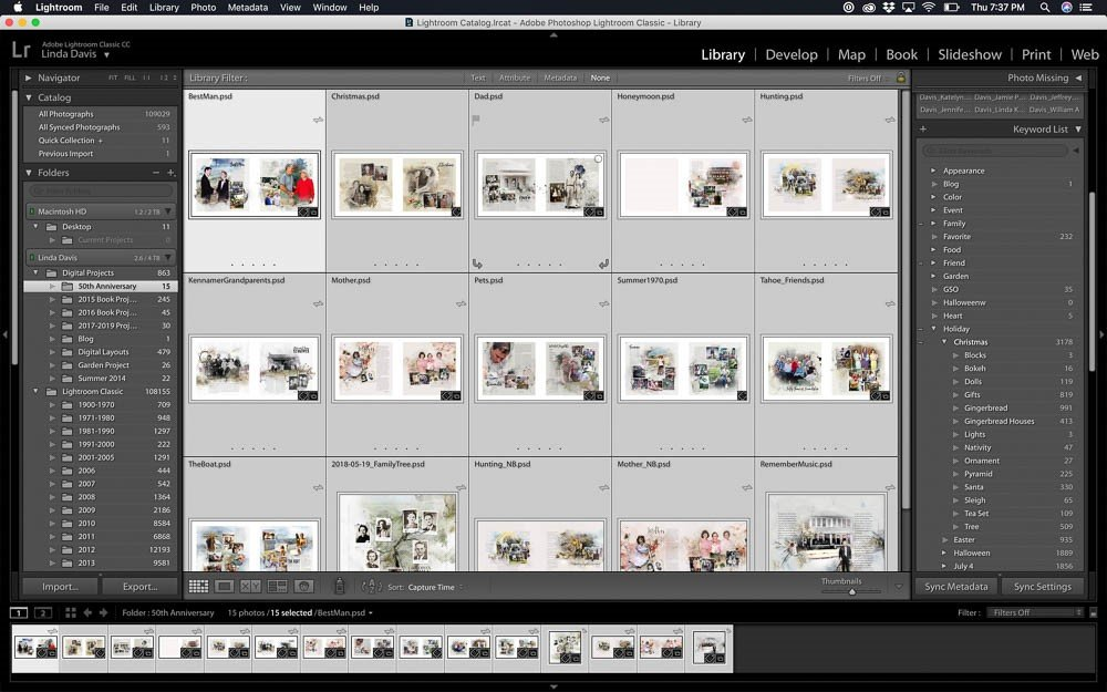 Project Prep with Lightroom
