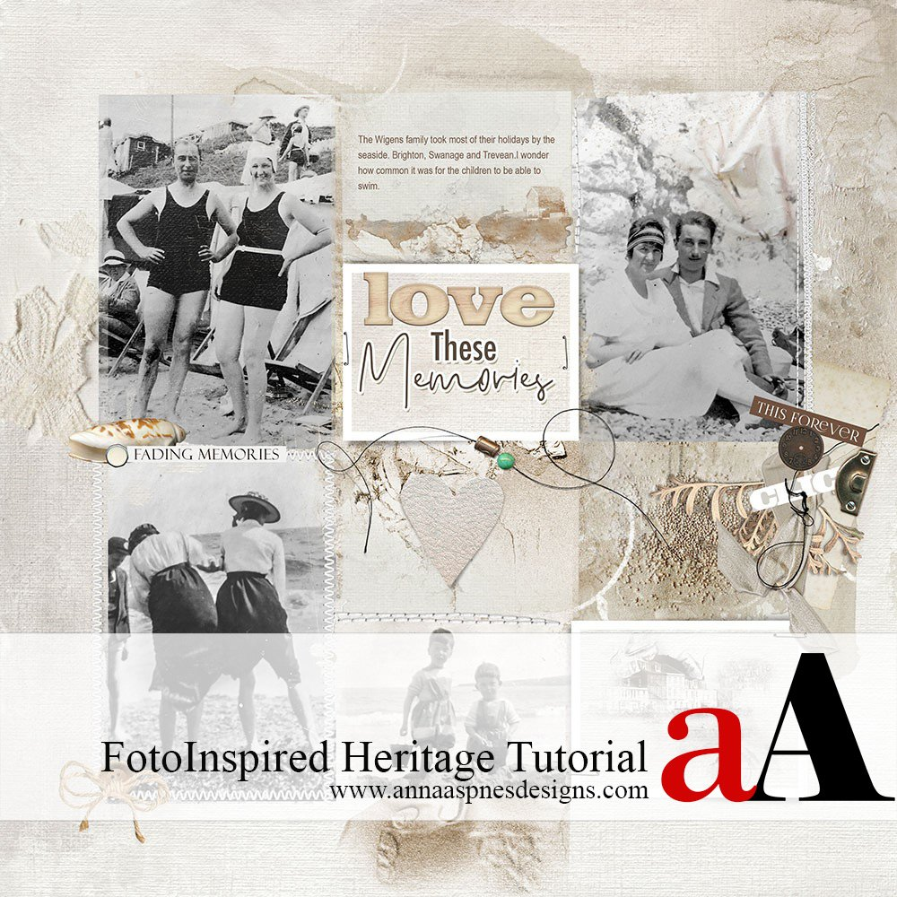 FotoInspired Heritage Tutorial