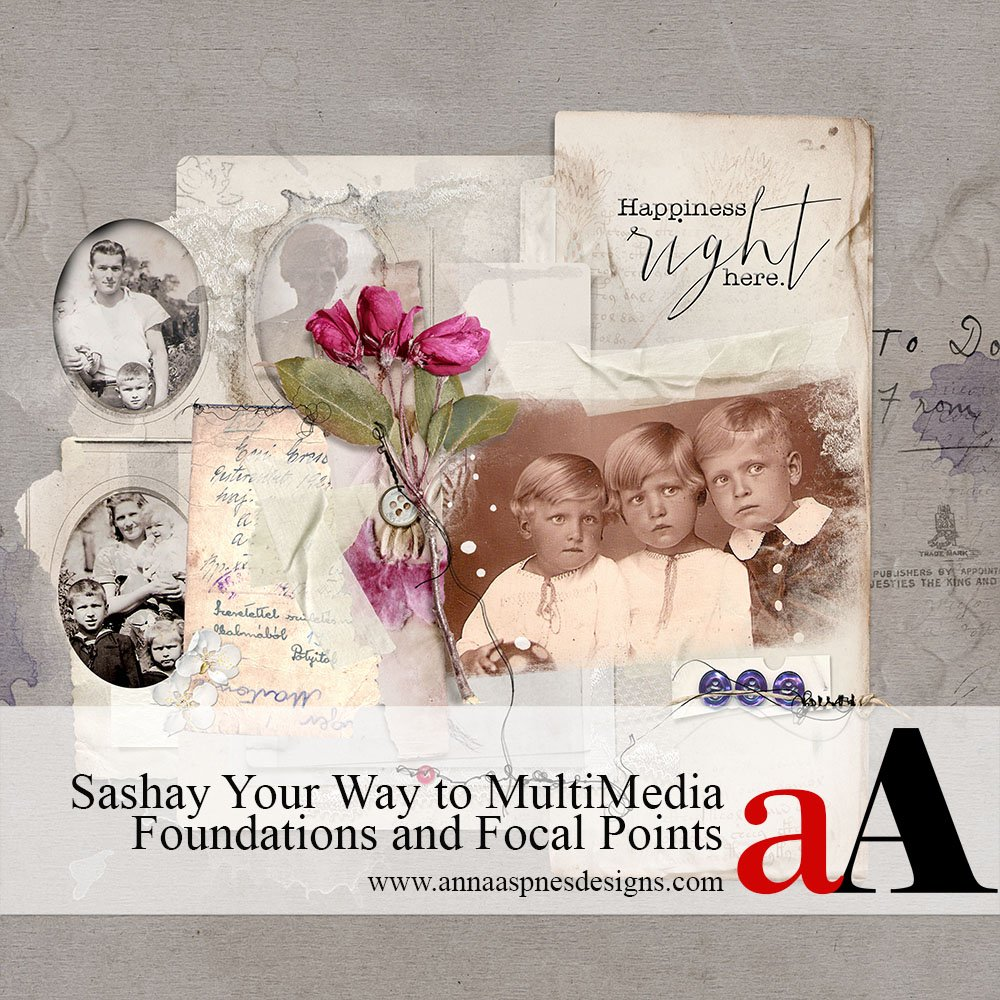Sashay Your Way to MultiMedia Foundations