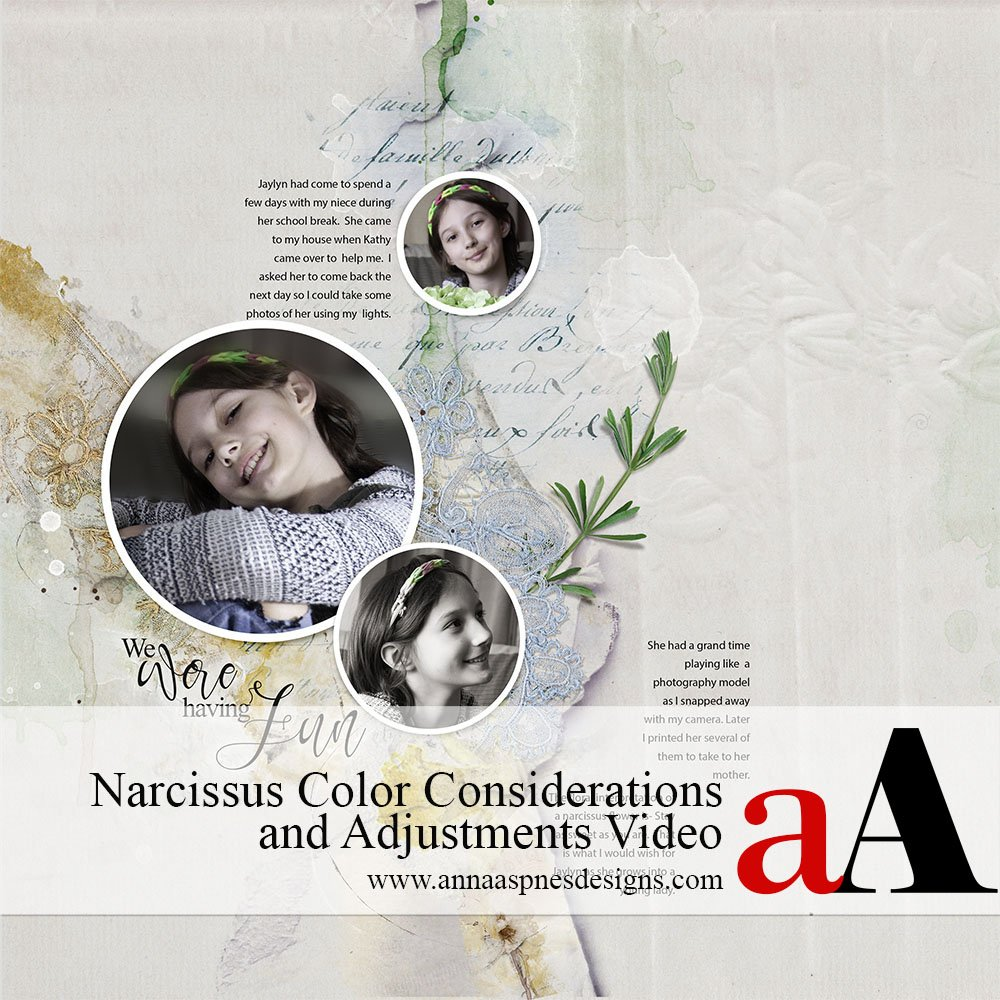Narcissus Color Considerations and Adjustments
