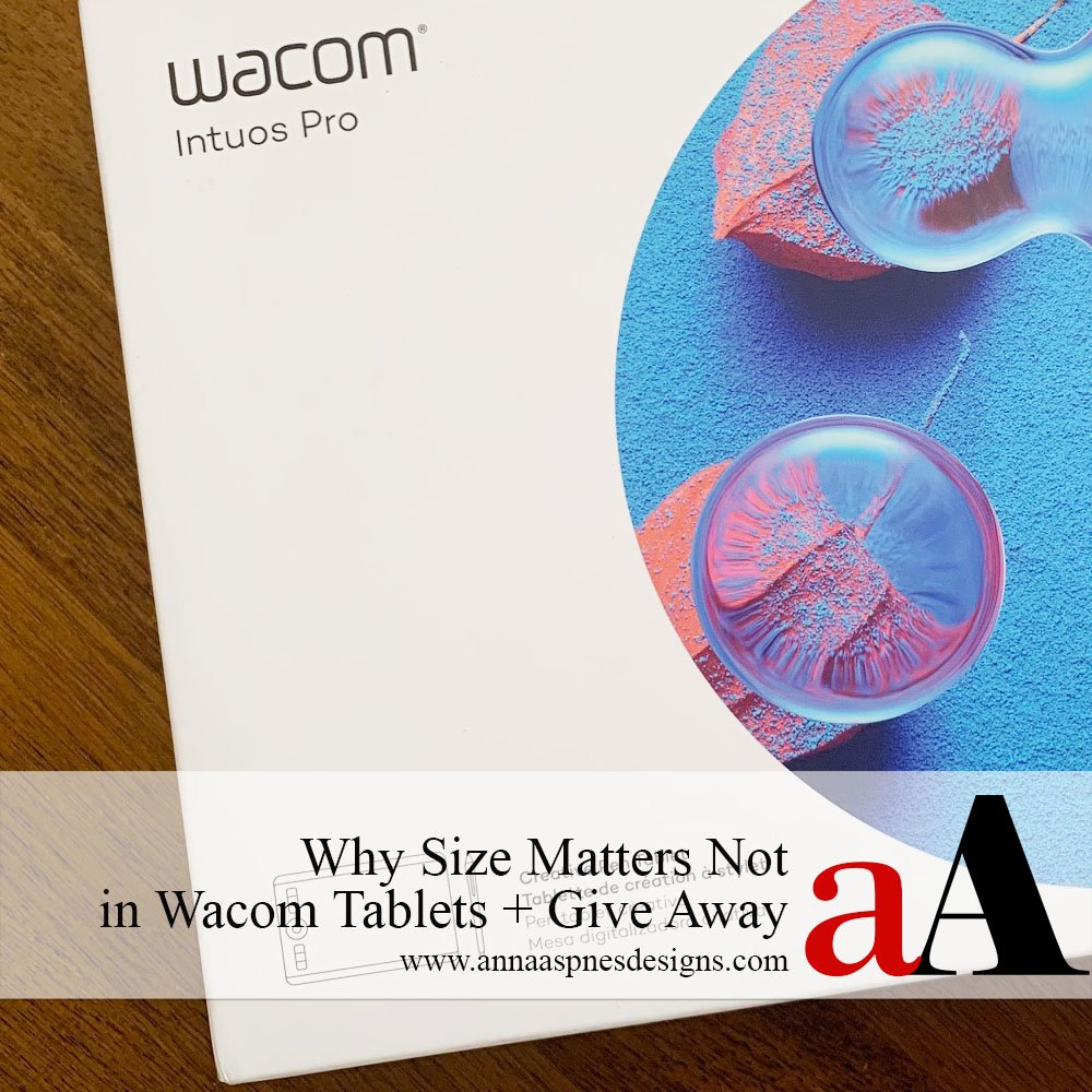 Why Size Matters Not in Wacom Tablets