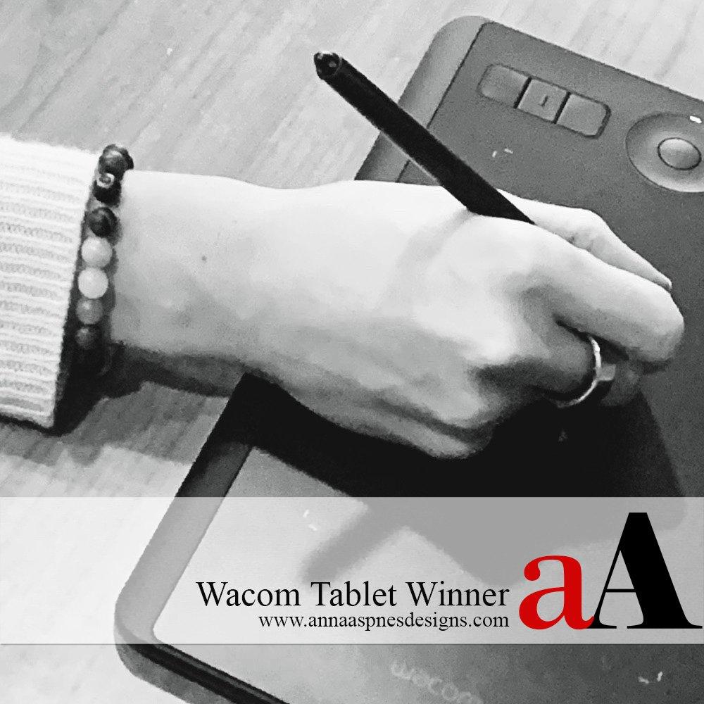 Wacom Tablet Winner