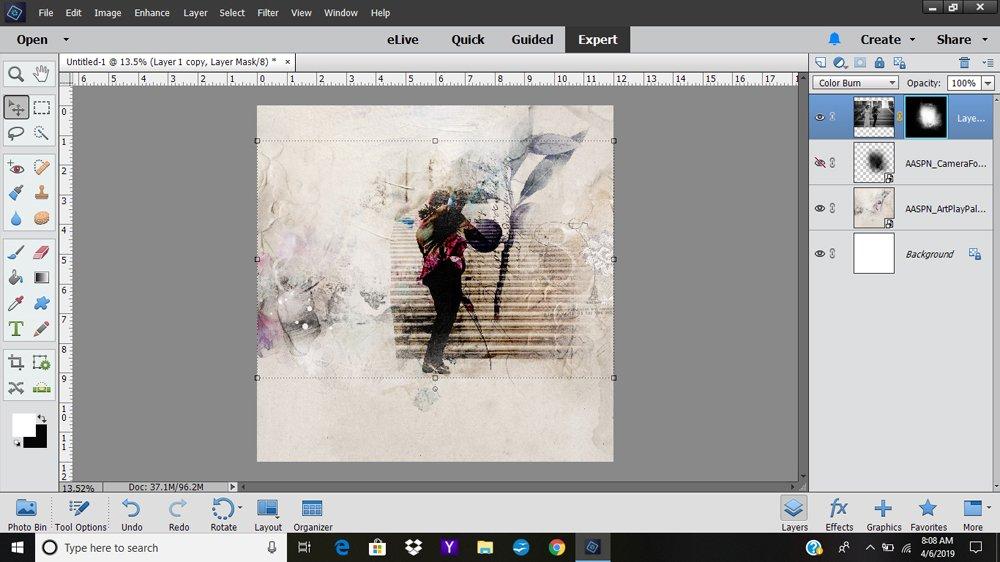 Using Blending Modes with FotoBlendz