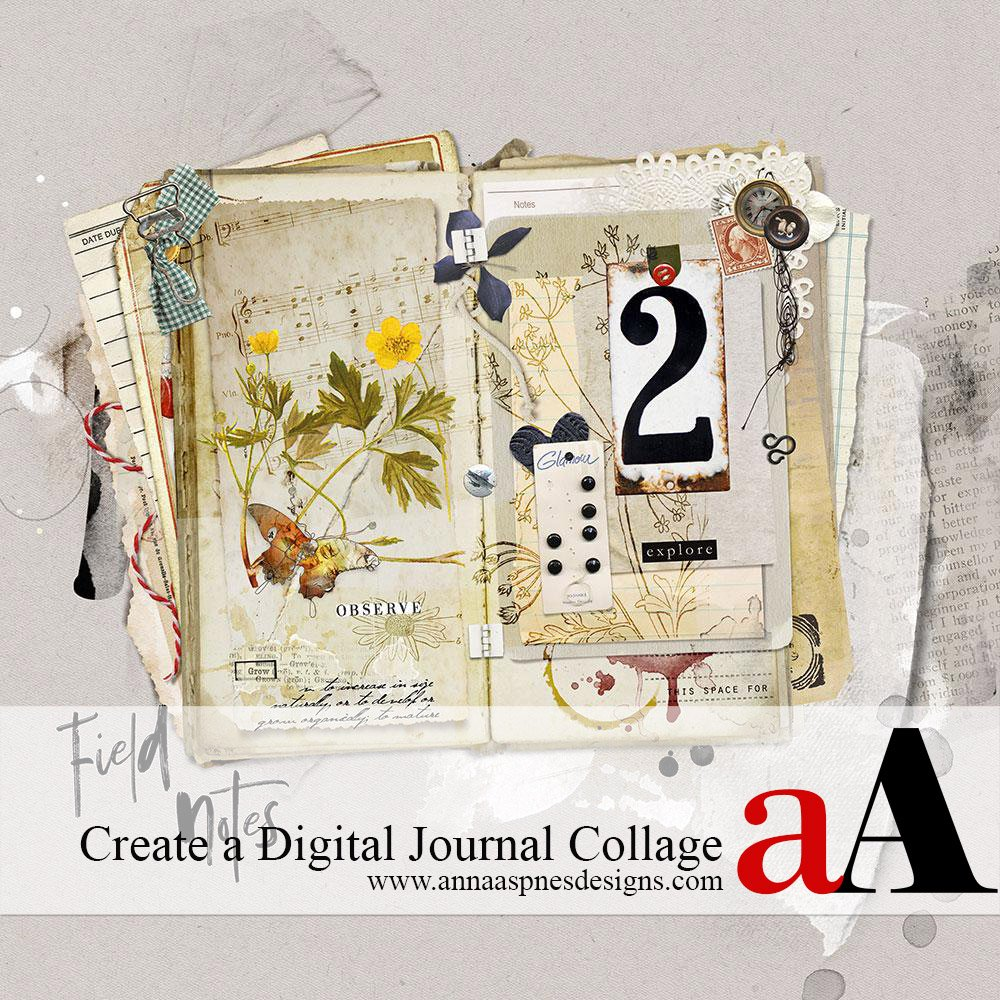 Create a Digital Journal Collage