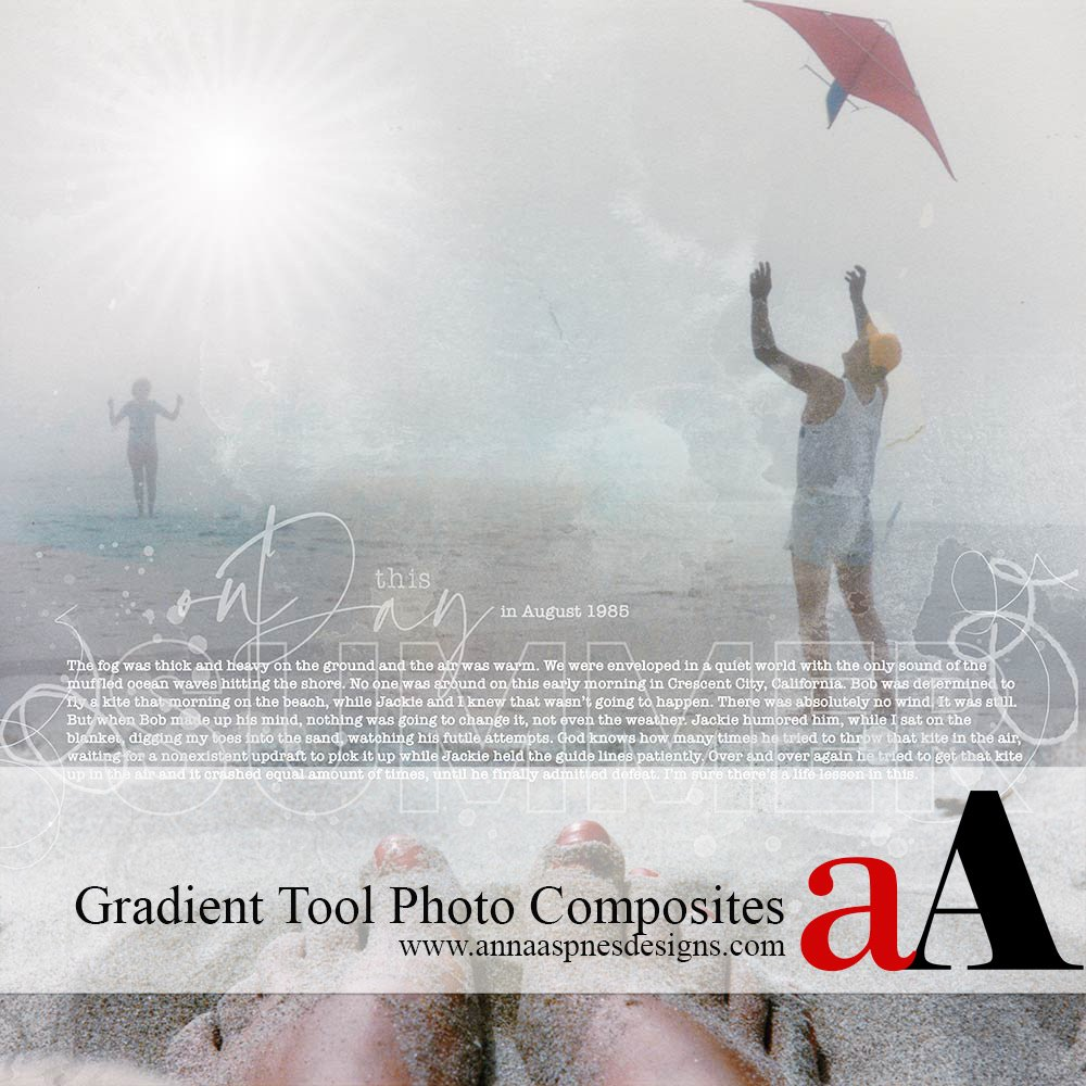 Gradient Tool Photo Composites