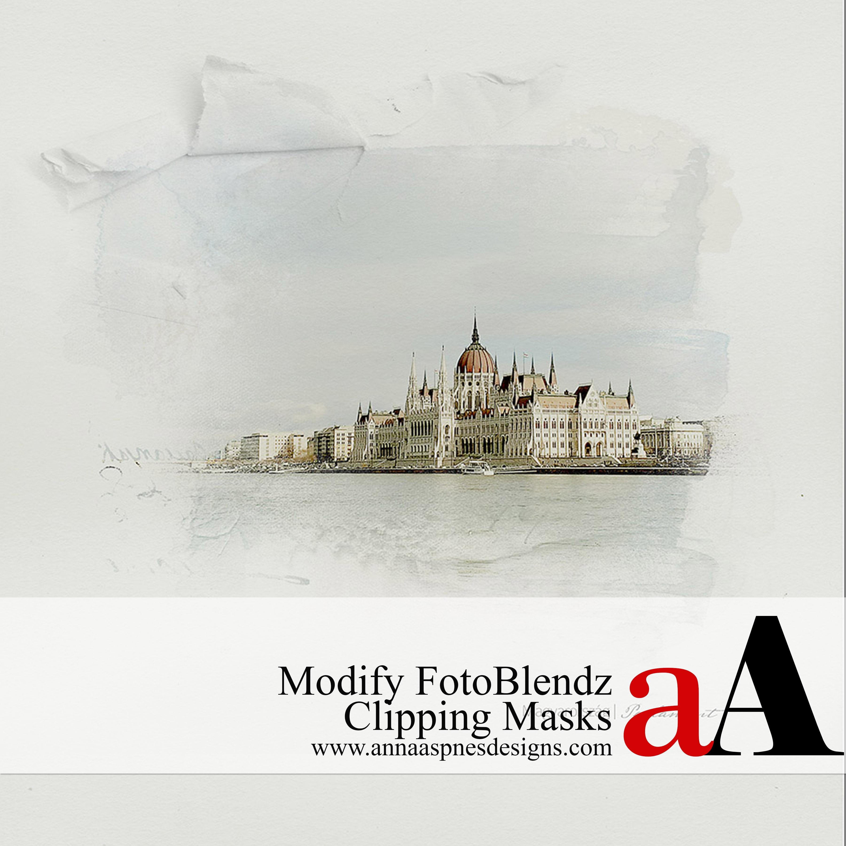 Modify FotoBlendz Clipping Masks