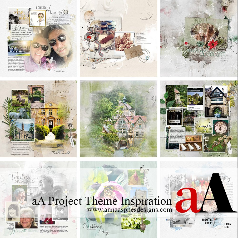 aA Project Theme Inspiration
