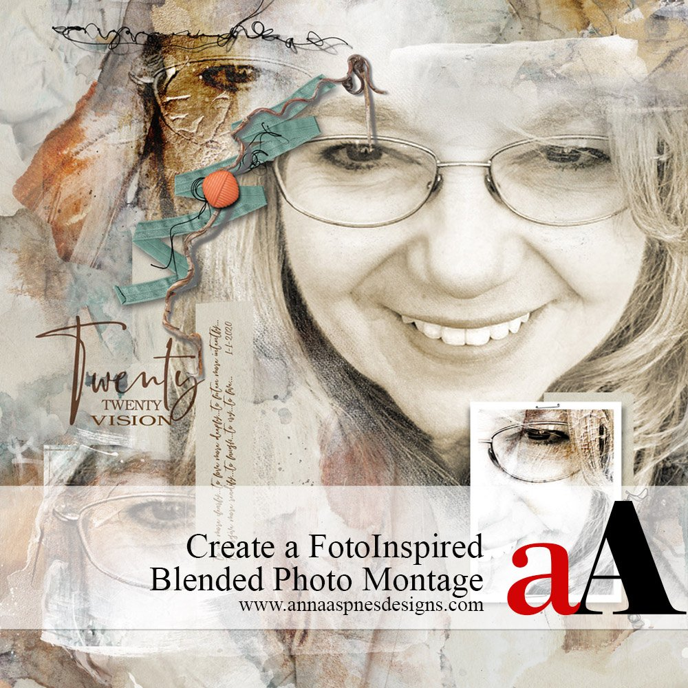 Create a FotoInspired Blended Photo Montage