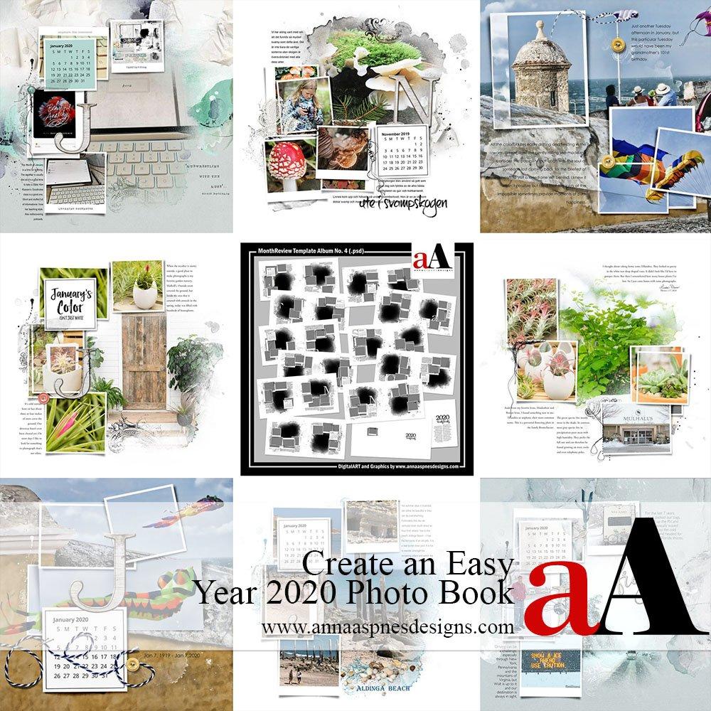 Create An Easy Year 2020 Photo Book