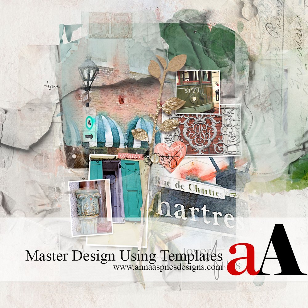 Master Design Using Templates