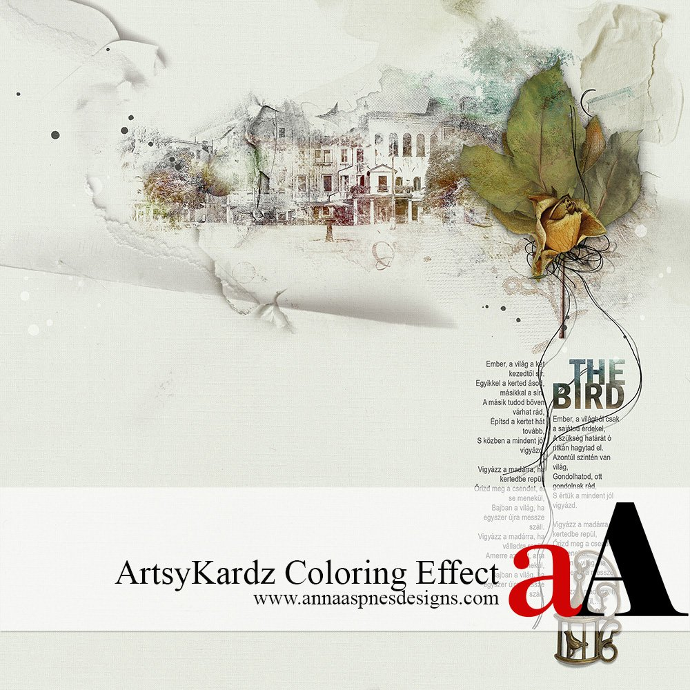 ArtsyKardz Coloring Effect