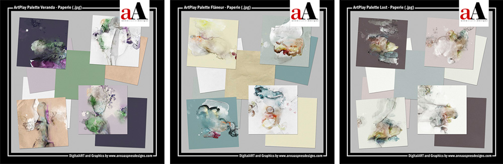 A Beginner's Guide to Digital Scrapbooking ArtPlay Palette Paper Packs
