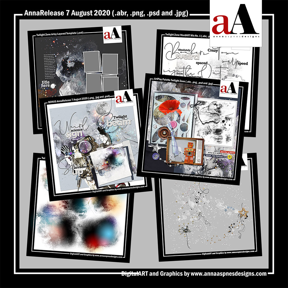 aA DigitalART Store Updates 08-07