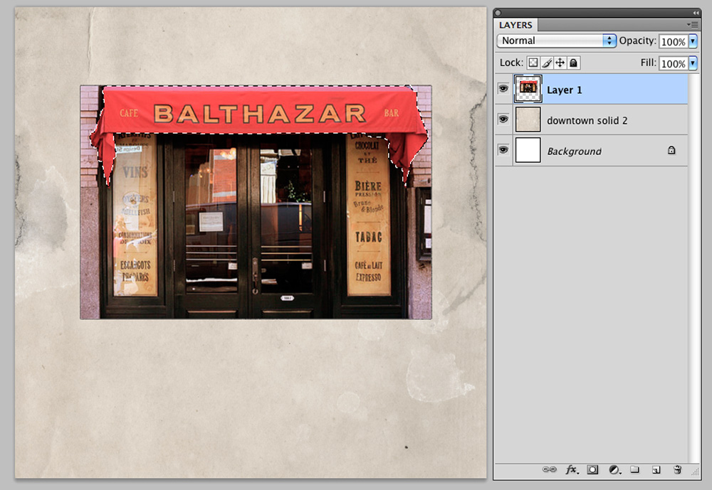 Extractions and Color Balance in Digital Scrapbooking Image 3