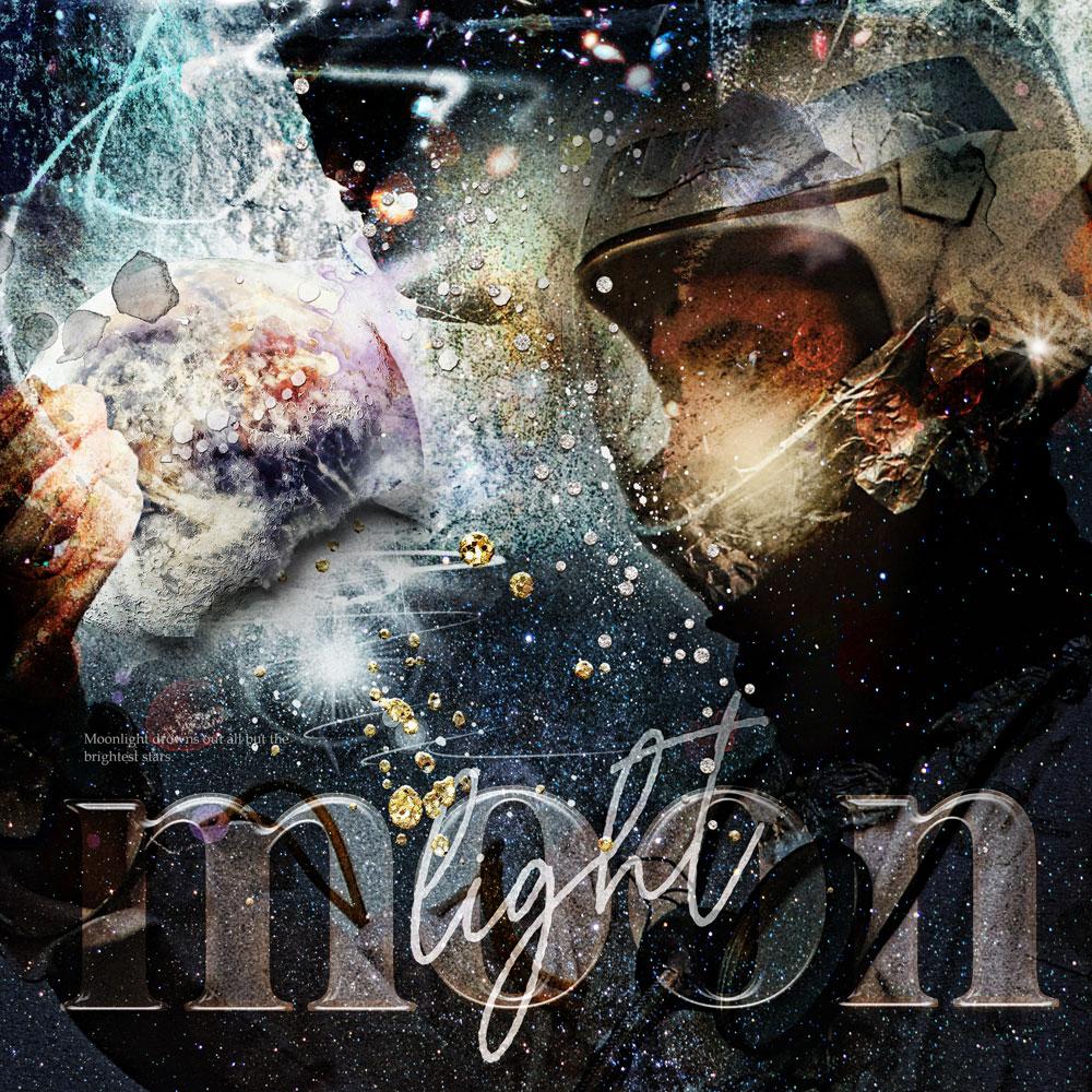 ArtPlay Twilight Zone Inspiration Digital Scrapbooking/Photo Artistry Layout by Adryane