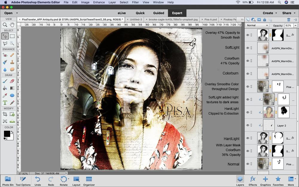 Double Exposure Technique in PhotoshopElements - Image 4