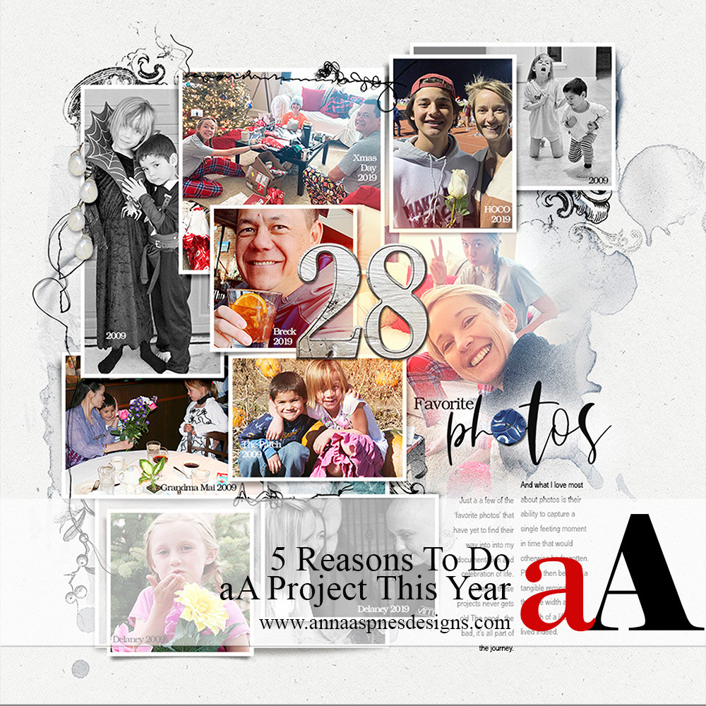5 Reasons To Do aA Project This Year