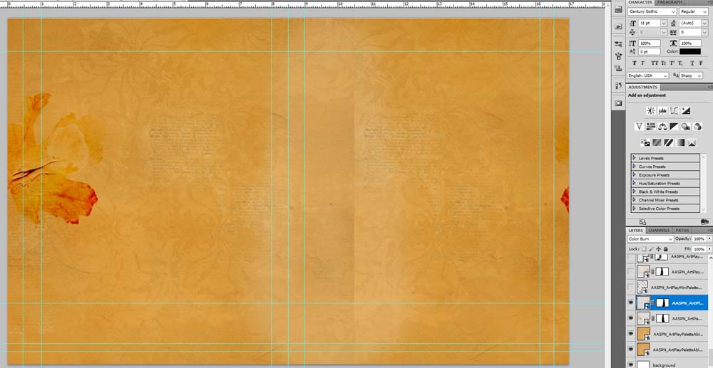 Modify Square Digital Papers